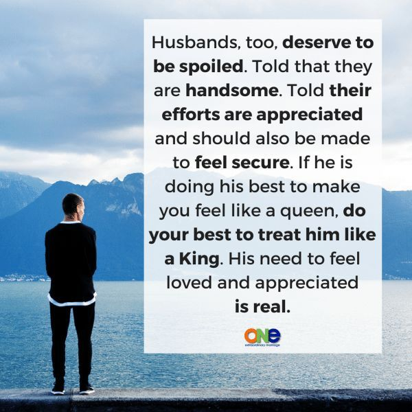 We need to be doing marriage in such a way that both wives AND husbands are acknowledged.