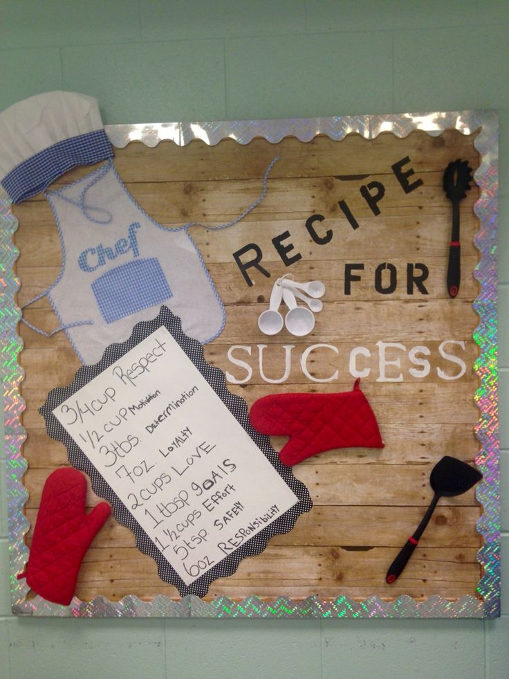 Bulletin Board Recipe for Success