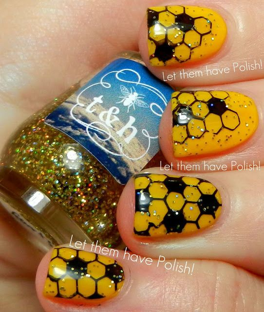 31 Day Challenge Yellow Nails