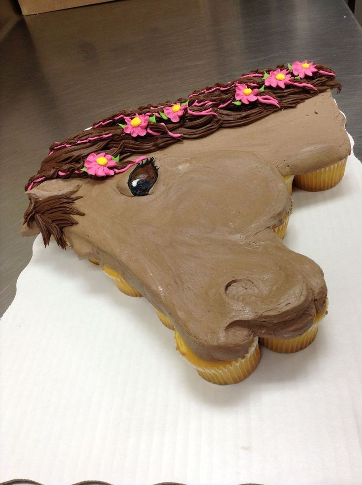 The 25 best Horse cupcake ideas on Pinterest Horse birthday