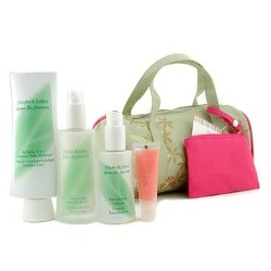 Elizabeth Arden - Green Tea Skincare - Day Care by Elizabeth Arden Green Tea Skincare Set: 3-in-1 Cleanser 125ml + Moisture Lotion 50ml + Revitalizing Essence 30ml + Lip Gloss 8ml + Bag $109.5 *Prices subject to change