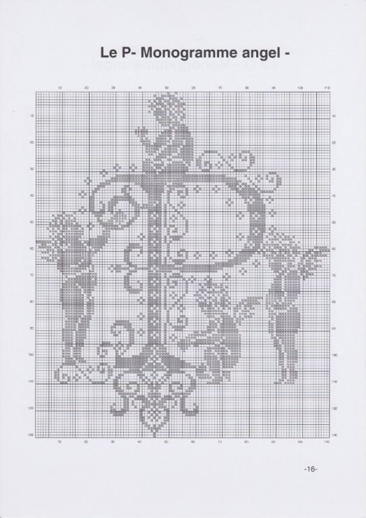 Gallery.ru / Фото #19 - JD327 - Monogrammes Angels - lyulnar