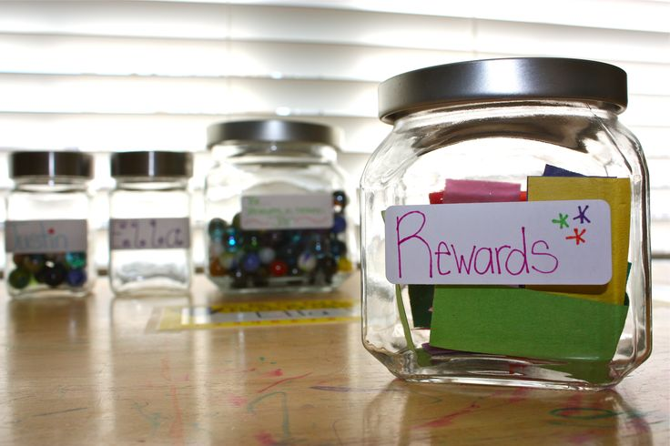 Reward System: Marble Jars