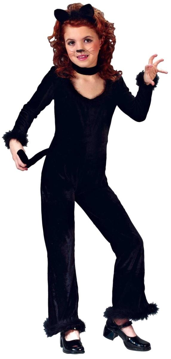 playful kitty costume black cat costume for kids halloween