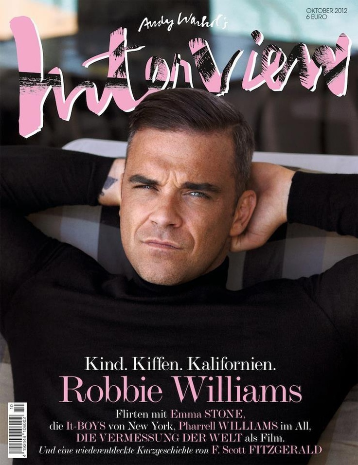Robbie Williams Interview