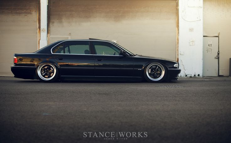 Stanceworks Bagged Bmw E38 740il Stance United
