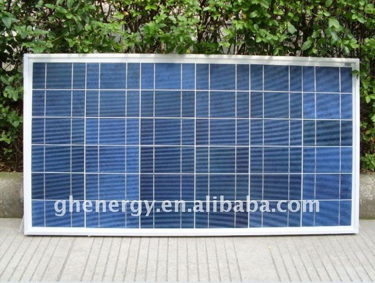 GH SOLAR-Best sell Solar modules Polycrystaline 100W GH energy ,solar panel,PV system