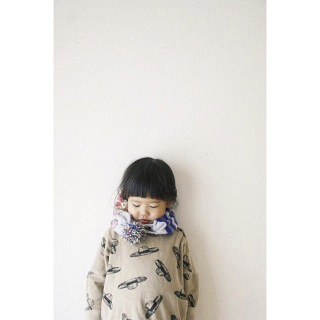 Perfect for the little ones too. ERIBÉ Kids Collectors Muffler beanie. Photo by  楽天市場 URCHIN @urchin_srl 2014.12.16