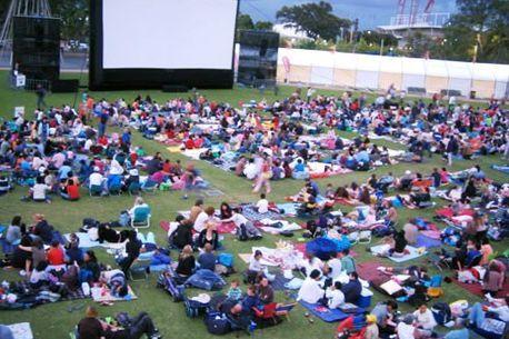 Outdoor film festival