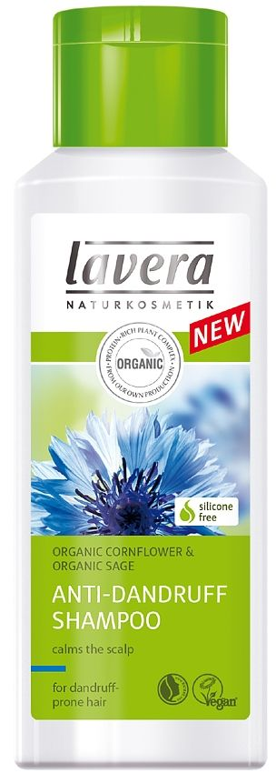 Lavera anti-dandruff shampoo - Best vegan dandruff SHAMPOO - natural dandruff treatment - cure for dandruff
