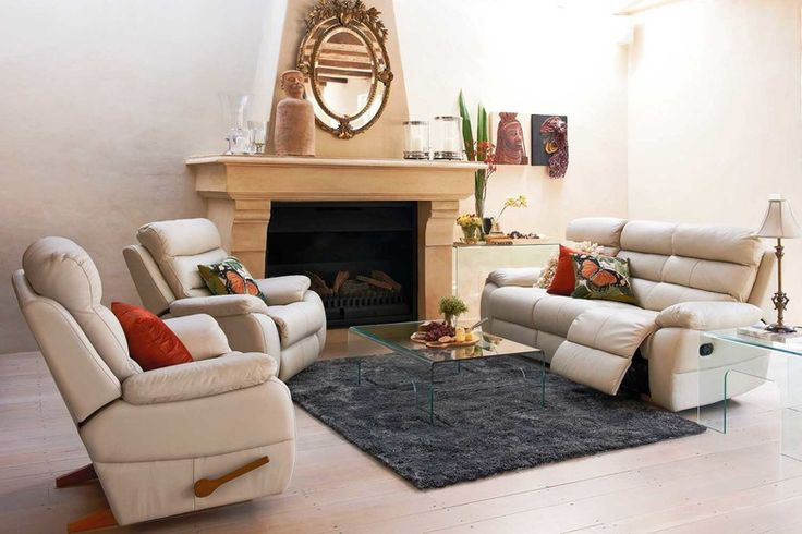 Dallas Leather Lounge Furniture by Morgan Furniture