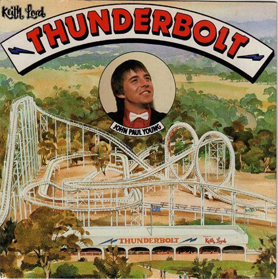 """7"""" Single on 45cat: John Paul Young - Thunderbolt / Dream World - Dreamworld - Australia - DREAM 001"""