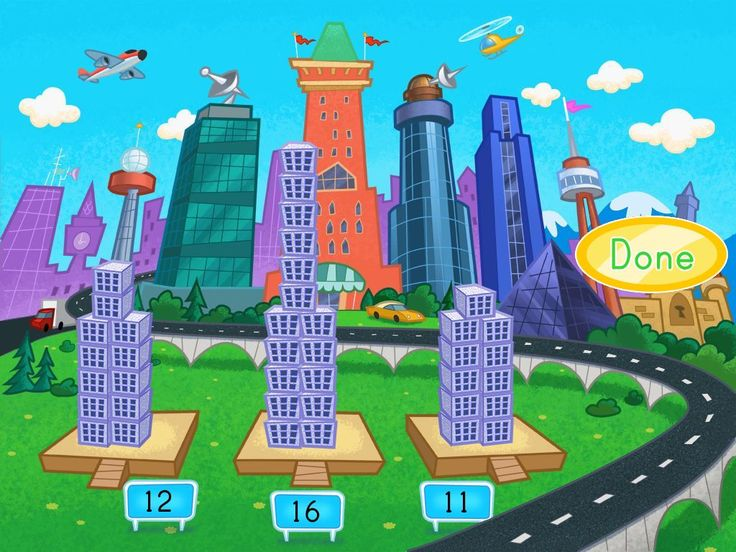 Building the City Skyline Addition Game Free online