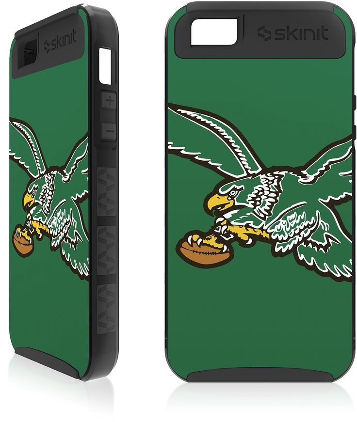 NFL - Philadelphia Eagles - Philadelphia Eagles Retro Logo - iPhone 5 & 5s Cargo Case. Made by Skinit in U.S.A. Skinit Cargo Cases are consistently a Best Seller!. Rugged Looking & Rugged Protection. Cargo Cases provide you Superior Protection with a Personalized Look. Great Drop & Scratch Protection at a fraction of the price of those other bulky looking cases!.