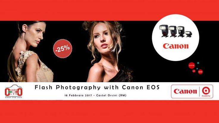 Flash Photography with Canon EOS | Canon Club Italia
