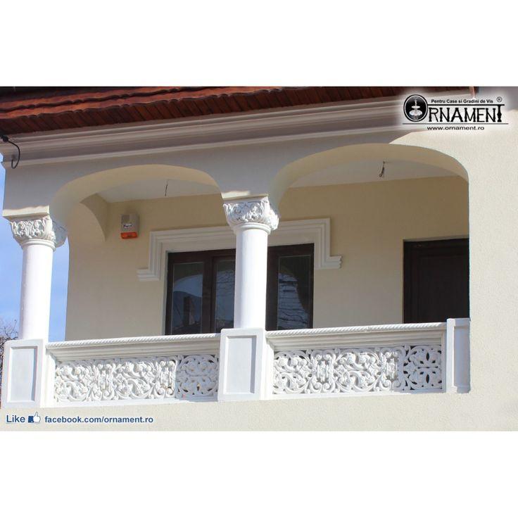 Capitel Stil Brancovenesc pentru Coloana Ornamentala din beton