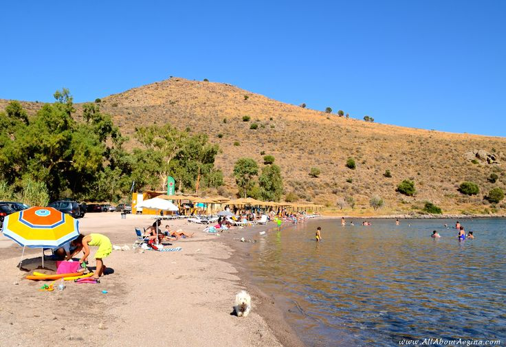 Klima beach, Aegina