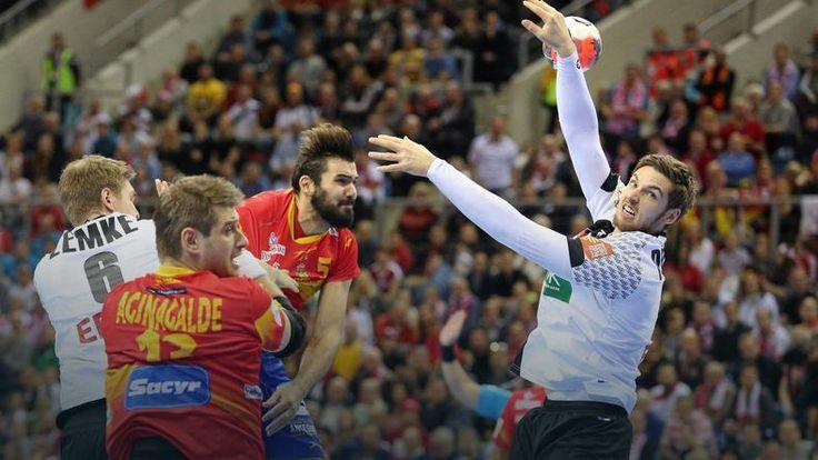 ME piłkarzy ręcznych: triumf reprezentacji Niemiec w finale, Hiszpania na kolanach