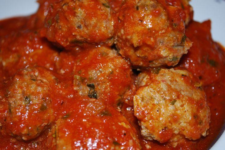 Paleo meatballs and marinara sauce.: Mamma S Meatballs, Meatball ...