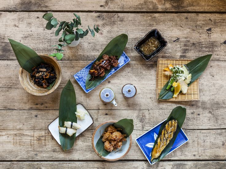On a residential Hackney street, someone's Pinterest board has come to life. At least, that's how this Japanese restaurant feels: from the brushed g