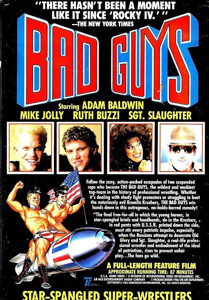 Bad Guys 1986 Imdb Bad Guy Guys Comic Book Cover