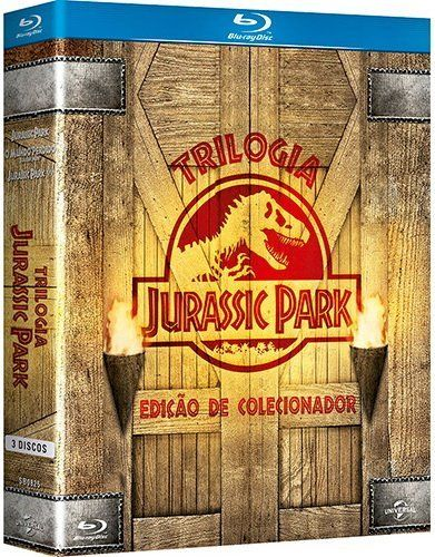 Blu-ray Jurassic Park Trilogy - Collectors Digipak Edition [Subtitles in English  Spanish  Portugu @ niftywarehouse.com #NiftyWarehouse #JurassicPark #Jurassic #Dinosaurs #Film #Dinosaur #Movies