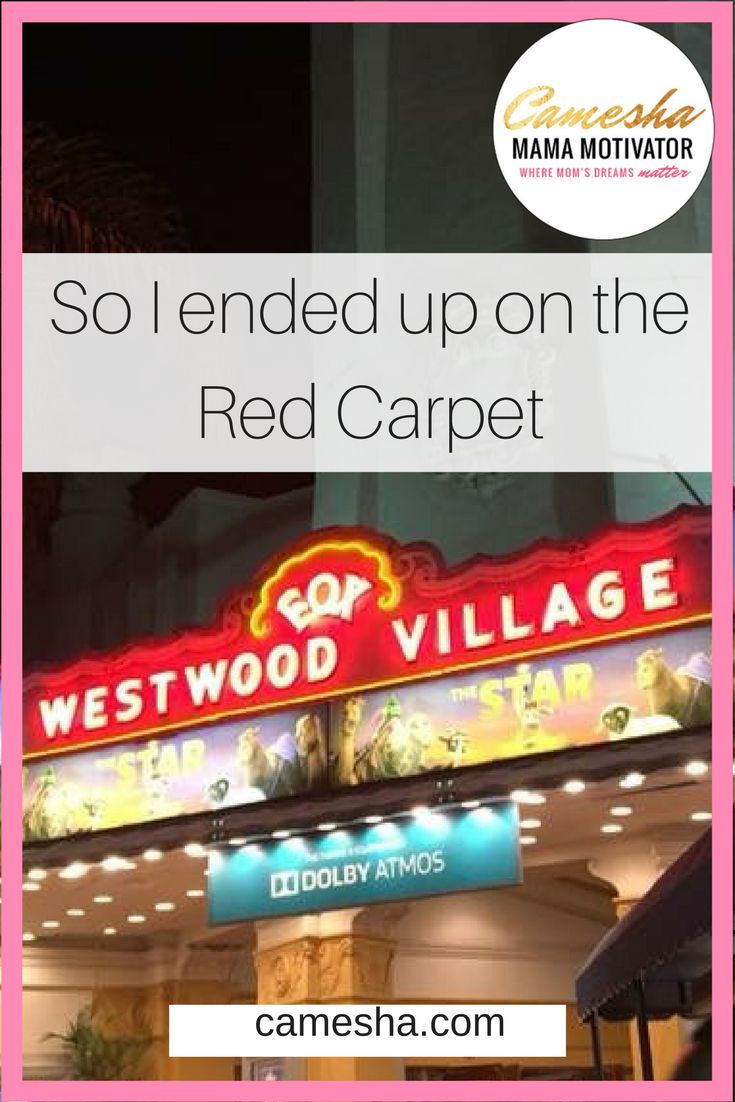 After all those years in the entertainment industry, I never found myself on anybody's red carpet. That is, until Being invited to see The Star!  https://www.camesha.com/blog/so-i-ended-up-on-the-red-carpet/