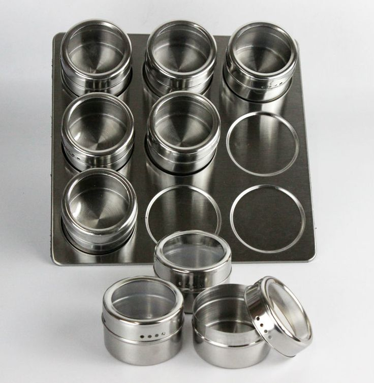 Magnetic spice rack stainless steel magnetic spice rack shape spice rack…