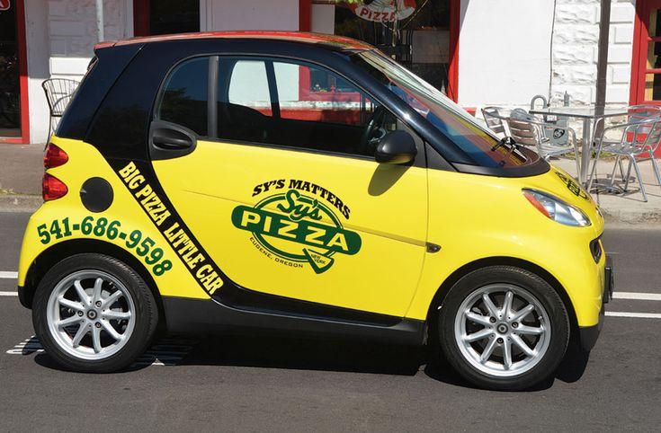 Domino S Pizza Car Magnet
