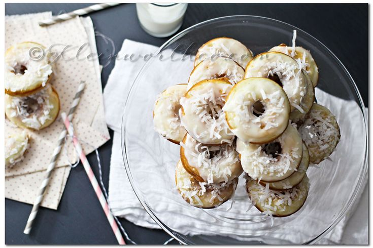 Banana Coconut Donuts Recipe ~ Your Best Weekly
