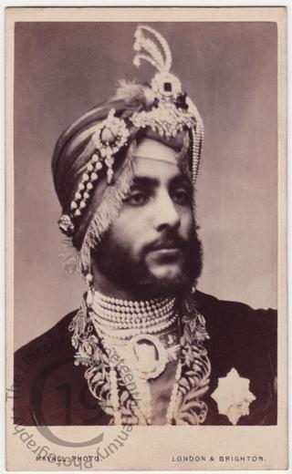 Maharajah Duleep Singh son of maharaja ranjit singh last powerful ruler of sikh empire