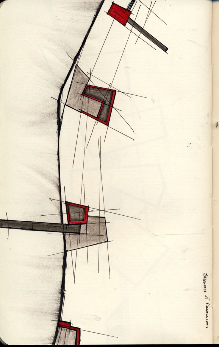 acidadebranca:  ARCHITECTURAL COLOR SKETCHES | 926 innocentbydesign:  SKETCHBOOK