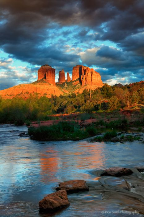 Red Rock Crossing at Oak Creek, Sedona; photo by Don Smith
