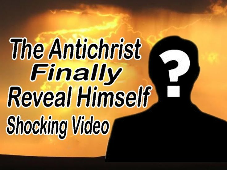 Breaking News : The Antichrist Finally Reveal Himself - Shocking Video
