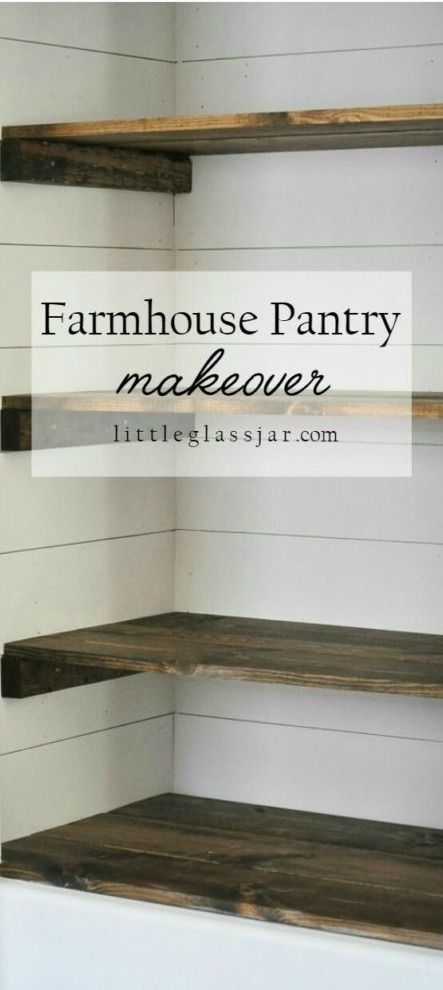 Get your food storage and cupboards ready to go before holiday cooking with this Farmhouse Pantry Makeover. We love the idea of making your panty as stylish as the rest of your house—plus, the added organization will make preparing meals a breeze!