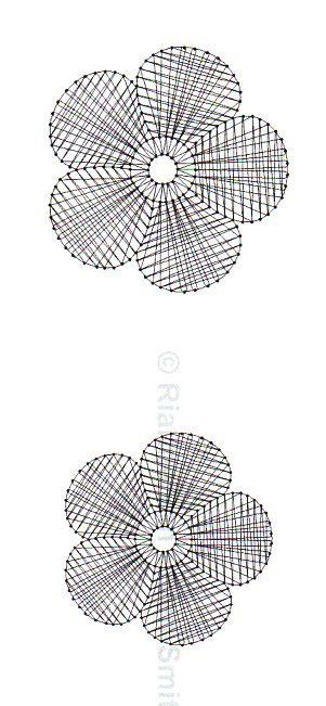 Patrón del Mes 2013 · Enero - Encaje con aguja (s) follar!