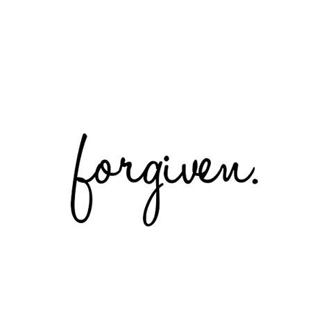 just a reminder... Jesus forgives!