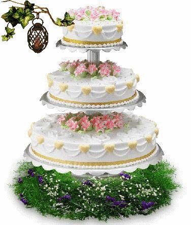 Открытки анимация торт
