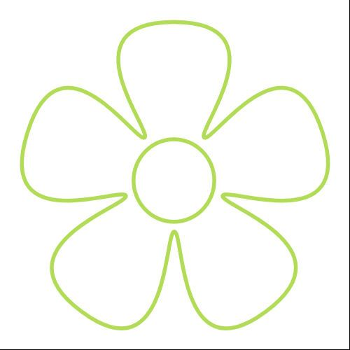 just did some searching for flower templates this one was