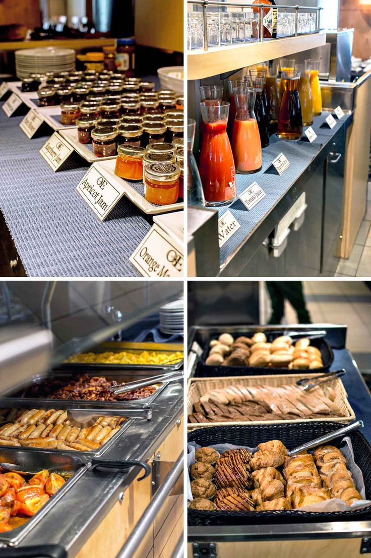 A small part of the breakfast spread on the Ocean Endeavour, Antarctica | heneedsfood.com