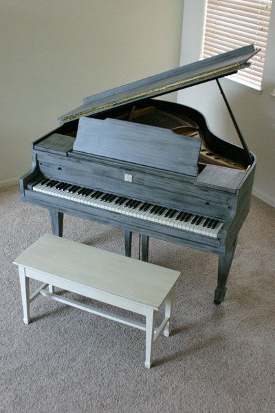 Okay I know chalk paint is really in right now but for f*ckin real do not chalk paint over a 12 grand musical instrument