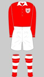 charlton athletic 1946 fa cup final kit