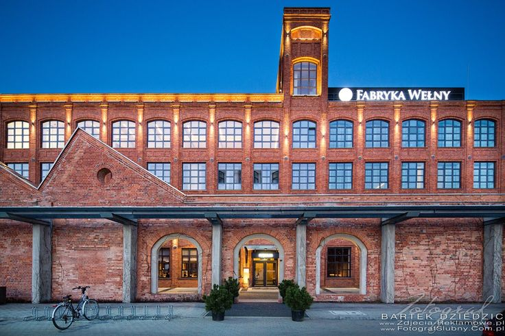 Hotel Fabryka Wełny Pabianice koło Łodzi. Fotografia reklamowa