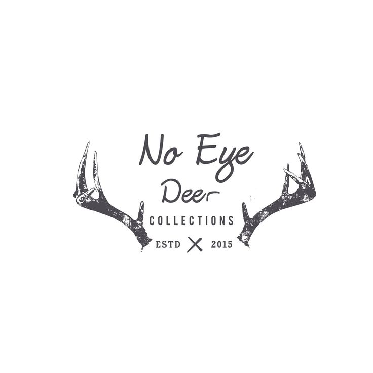 """no Eye Deer Collections"" is the name of my com... Conservative, Playful Logo Design by shahirnana"