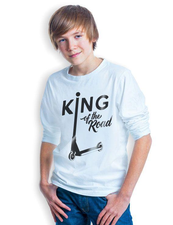 King of the road small. Plotterdatei