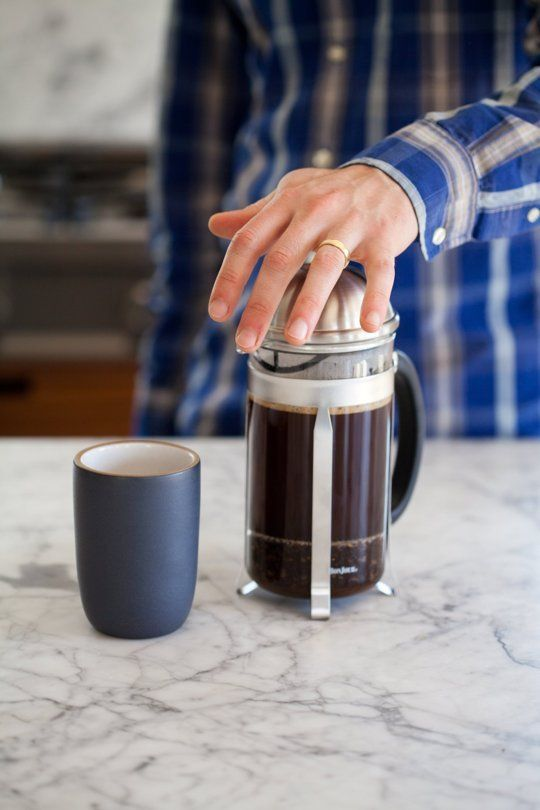 How To Make French Press Coffee — Cooking Lessons from The Kitchn   The Kitchn