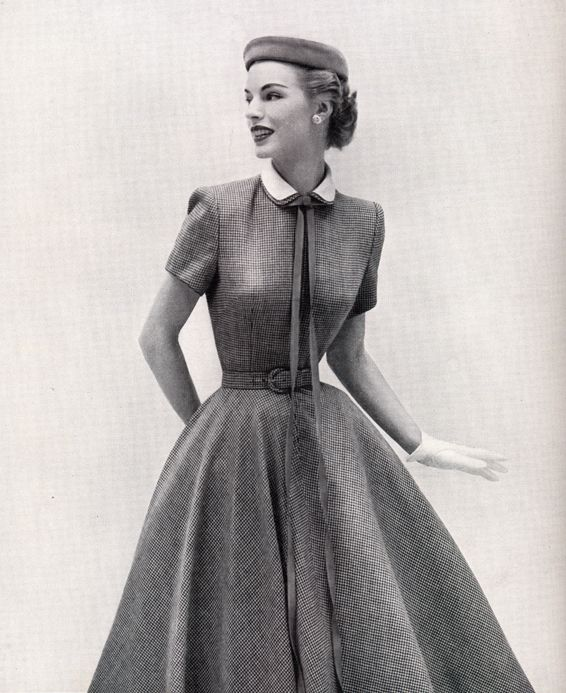 Выкройка платья в стиле нью-лук | Шкатулка