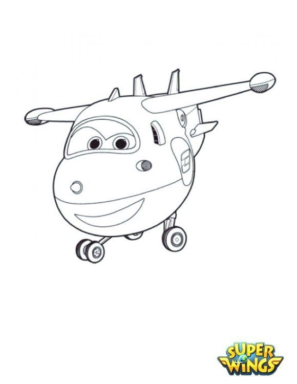 super wings ausmalbilder kostenlos  coloring pages for