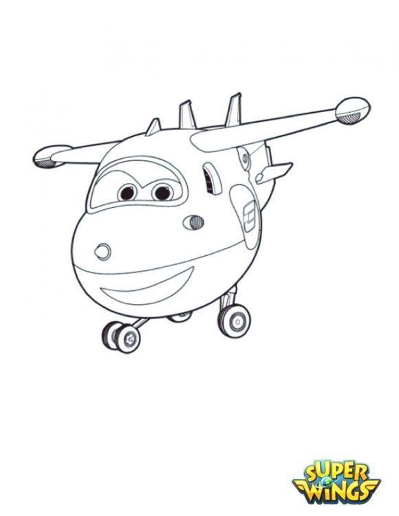 Super Wings Ausmalbilder Kostenlos