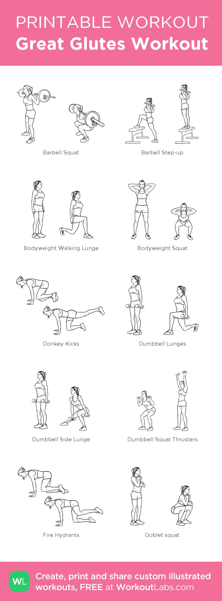 Great Glutes Workout